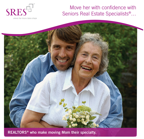 SRES Realtors make moving Seniors their specialty.